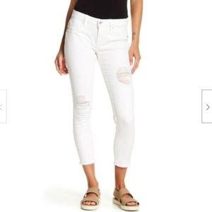 Vigoss Jagger Destructed Classic Fit Skinny Jean